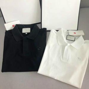 2020 Paar Frauen Männer Modemarken klassische Polos Frauen-T-Shirts Spitzen kurze Ärmel Sommer perfektes Detail Anti-Pilling Luxuriöser Spitzen Stickerei