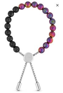 2019 hommes bijoux de design de luxe bracelets perles Charms Bracelets de perles Bracelet pour Hommes Artisanat Bijoux Chakra