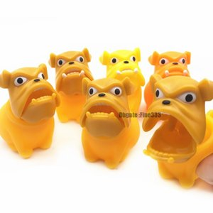 Squeeze Bulldog Toys Puppy Squishy Anti stress Small Dog Squeeze Toy descompresión Squishes Doll Stress Relief Smoothly Shapi Dog Novedad