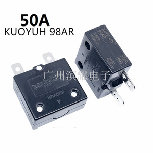 Taiwan KUOYUH 98AR-50A Overcurrent Protector Overload Switch Automatic Reset