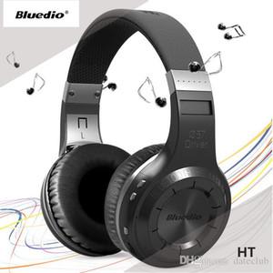 소매 상자 VS Bluedio T2S없이 Bluedio HT 블루투스 스테레오 무선 헤드폰 BT4.1 오버 이어 헤드폰 무료 배송
