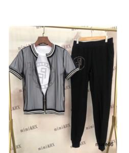 Takım elbise Harf Baskı Seksi Şort Beyzbol Suit Kadın Spor eşofman Koşu 040209 yazdır Serve