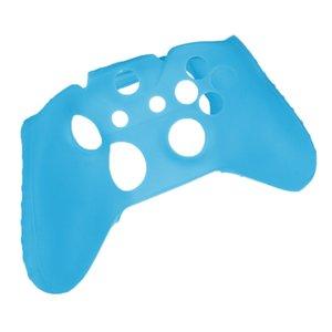 Funda de silicona protectora ligera Noche antideslizante para Xbox Un regulador del juego - rosa