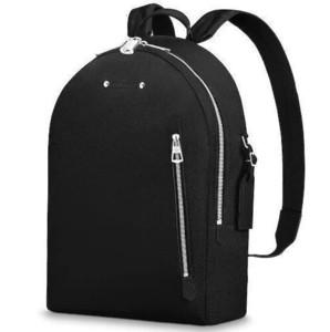 M42687 Armand Рюкзак Мужчина Мода черного рюкзак показы моды окисленная Кожа Бизнес Сумка Сумка Totes Сумка Сумка