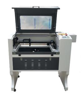 CO2 lazer oyma kesme makinası cnc küçük bir mini 4060 kağıt ahşap şarap şişesi oymacı 80W