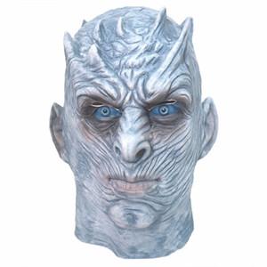 Game Of Thrones Nacht König Masken Halloween-Maske Nacht König Walker Gesicht Latex Maske Erwachsene Cosplay Thron Kostüm-Party-Masken