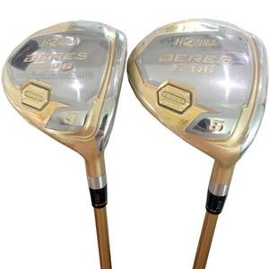 Nouveaux clubs de golf HONMA S-06 Golf Fairway Wood 4 étoiles 3 / 5wood Loft Golf wood Graphite shaft et clubs Head Cover Livraison gratuite