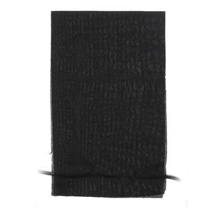 Schwarz 3in1 5V Elektrische USB Heizkissen Wasserdichte Carbon-Faser-Heater Jackets Kleidung Winter-Wärmer