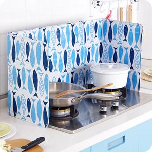 Splash Proof Baffle Werkzeuge Küche Bratpfanne Öl Spritzschutz Schirm-Abdeckung Gasherd Anti-Spritzer-Schild-Schutz Öl Divider