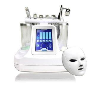 7 en 1 bio martillo rf hidro microdermoabrasión hydra agua dermoabrasión spa poro de la piel facial máquina de limpieza