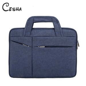 CESHA Fashion Men Durable Canvas Briefcase Alta calidad Durable 15inch Laptop Bag Business Men Documentos Bolsa PortfolioMX190905