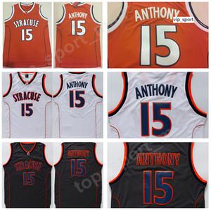 كلية كاميرلو أنتوني سيراكيوز أورانج جيرلز برتقالي أسود اللون فريق أنتوني جامعة جيرزي كرة السلة جودة موحدة
