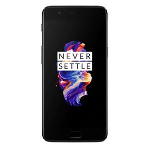 Оригинал OnePlus 5 4G LTE сотового телефон 6GB RAM 64GB ROM Snapdragon 835 окт Ядра Android 5.5 дюйма 20MP NFC Fingerprint ID Smart Mobile Phone