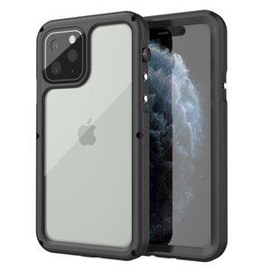 iphone için iphone 11 pro max Darbeye Su geçirmez Case IP68 su geçirmez Telefon Kılıfı max XR 11pro Tam Koru Kapağı xs