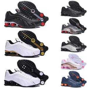 Nike shox 301 shoes Heißer Verkauf LIEFERN R4 dreifaches weißes Schwarzes Mann-Frauen-Laufschuhe rosafarbenes OZ NZ 301 Mens-Trainer-Entwerfer-Sportschuhe