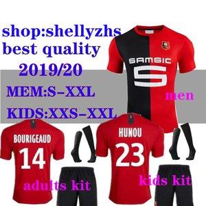 soccer Stade Rennais Home 19 20 jerseys 2019 2020 Rennes maillot de foot Adult and kids #7 Sarr #11 Niang #14 BOURIGEAUD football shirt