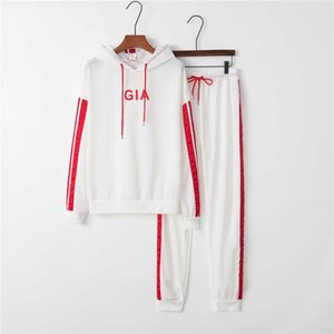 New Women Active Set Tracksuits Hoodies Sweatshirt + Pant Running Sport Track Suits 2 Pieces Jogging Sets New Womens Sports Casual Suit