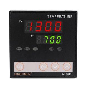 Sinotimer العالمي المدخلات pid تحكم ترموستات استشعار k الحرارية منظم التتابع الناتج الحرارة بارد إنذار