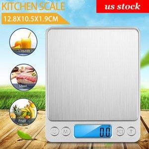 3000G / والمجوهرات 0.01g الذكية الرقمية متعددة الوظائف الفولاذ المقاوم للصدأ مطبخ الغذاء مقياس شاشة LCD