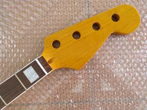 메이플 21 Fret Neck For Electric Jazz베이스 기타 목 부분 Replacment