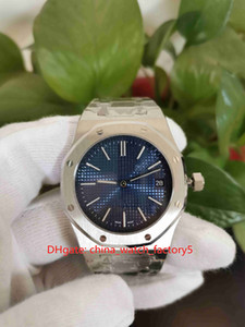 Горячие позиции Высокое качество Мужские часы 39мм Offshore Jumbo Extra-Thin 15202 15202IP.OO.1240IP.01 из нержавеющей стали кварцевый механизм Мужские часы