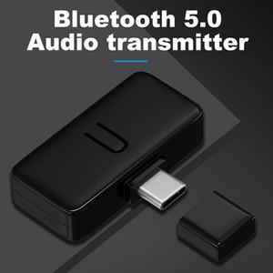 بلوتوث 5.0 الارسال الصوت نوع C الارسال محول لتحويل الاتصال سماعة مكبر الصوت اللاسلكية