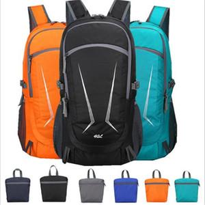 Nuovi sport pieghevole zaino 40L Hwjianfeng 531 Portable sacchetto di nylon esterno funzionare escursionismo escursioni in bicicletta Zaino