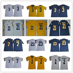 2020 NCAA Michigan Wolverines 2 Shea Patterson 3 Rashan Gary 21 Desmond Howard 7 Khaleke Hudson 23 Tyree Kinnel calcio maglie S-3XL