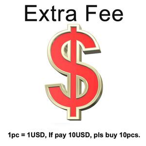 i soldi extra, più le dimensioni, la carica accelerata, i campioni di tessuto Freeshipping