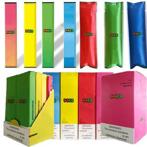 8 Colors Poco Disposable Device Pods 1.3ml Starter Kit Empty Vape Pen Cartridge 280mah Battery Pod Oil Carts E Cigarettes