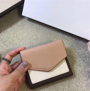 Designer Luxury Wallet High Quality Leather Standard Wallets Short CFY2002223