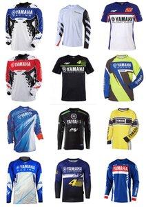 Yamaha di vendita caldi Downhill Estate equitazione a maniche lunghe T-shirt Outdoor Mountain bike motocross asciugatura rapida maglietta