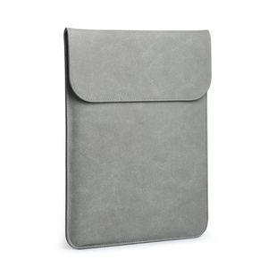 Zoll für MacBook Pro 16-Kasten Laptop Sleeve Abdeckung dünnen weichen PU-Leder-Schutzhülle Anti-Scratch-Wasserdichte Laptop-Tasche 2019