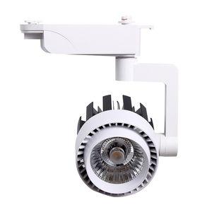 LED Parça Işık 20W 30W COB alüminyum Tavan Raylı tavan spot Spot Işık İçin kolye Mutfak Giyim Mağaza açtı