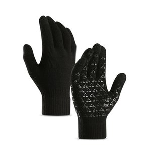 Men Women Winter Touch Screen Gloves For Smart Phone Tablet Full Finger Mittens motorcycle gloves Winter warm mittens