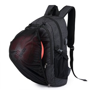 Sports Backpacks with USB Charging Men's 15.6 inch Laptop School Basketball Backpacks For Men&Women Outdoor Fitness Gym Bags 3CPN0