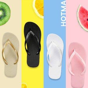 Bascule pantoufles rose d'été portent clips antidérapants glisser la salle de bain rouge couple plage sandales mer et des chaussons de classe
