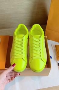 Le nuove donne femminili Designer economici della scarpa da tennis casuale Shoesp scarpe da tennis vera pelle rossa inferiore asso scarpe di stoffa netto fiore calda della scarpa da tennis tos box 35-44