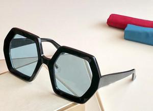 Neue Luxus-Designer-Frauen Sonnenbrille 0708 quadratische Rahmen Funktion populär Avantgarde Laufsteg Stil hochwertige uv400 Schutzbrille