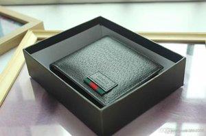 İLE BOX 2020 erkek deri klasik luxurys cüzdan gündelik kısa tasarımcılar kartı sahibi tutucu cebi moda erkek cüzdan, 0011 cüzdanlar