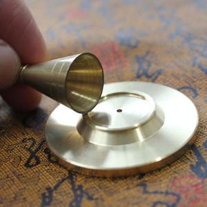 Conos de incienso de cobre que hacen el molde de bricolaje torre quemador de incienso herramienta de decoración del hogar envío rápido ZC0711