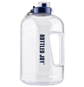 1 Gallon Bouteille d'eau, Sans BPA Grande bouteille d'eau Hydratation étanche potable Big Water Jug pour Camping Sports et plein air Workouts