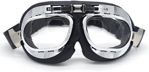 Motorcycle Goggles Eyewear Glasses for Aviator Pilot Cruiser Scooter ATV