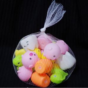 5 шт. собака игрушки горячая распродажа Каваи маленькие животные ущипнуть писклявой музыкой, творческий декомпрессии вентиляционные мяч детский подарок игрушки оптом