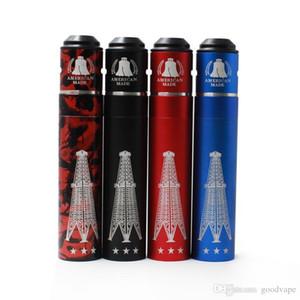Vaporizador Rig V3 Mod Mecânica Rig Mod v3 kit RIGV3 Cobre Vermelho Com kit RDA terk 18650 bateria RDA Atomizadores de alta qualidade livre