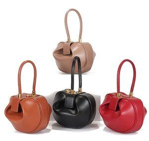 Çanta tasarımcısı son kadınlar casual tote napa deri hamur şekli crossbody çanta 21 cm, 16 cm iki boyutları