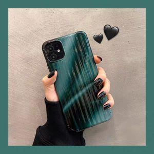2020 Hot Sale Dark Green Laser Phone Case For iPone 11Pro 11ProMax 11 X XS XR XRMAX 7&8 7p&8Plus
