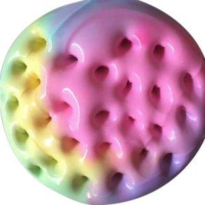 100 ml Arco-íris Slime Fluffy Floam Crianças modelagem em argila Brinquedos Polymer Brinquedos Educativos Seguro Cotton Slime Presentes Anti Estresse Plasticine