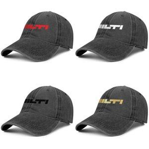 Hilti AG Unternehmen Group Tools schwarz Herren und Damen Baseball Denim Cap cool ausgestattet Golf Sport Vintage benutzerdefinierte einzigartige personalisierte Hüte