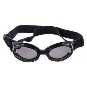 Black Framed Pet Puppy Dog UV Protection Doggles Goggles Sunglasses Eyewear